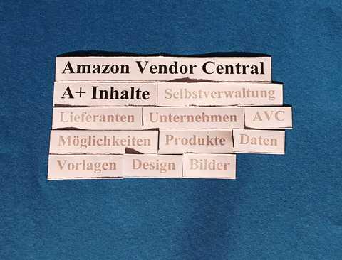Amazon Vendor Central. A+ Inhalte: Eindrücke von der Basis.