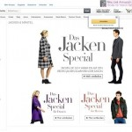 Screenshot: Amazon Store Jacken & Mantel (DE) Quelle: http://www.amazon.de/jacken-special
