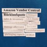 Amazon Vendor Central: Ihre Rücklaufquote (return rate).