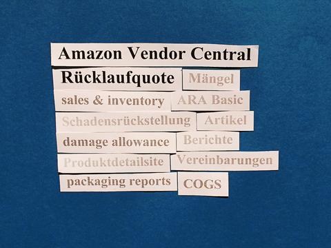 Amazon Vendor Central: Ihre Rücklaufquote (return rate).