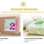Screenshot: Amazon Elements: Windeln und Babyfeuchttücher Quelle: www.amazon.com/amazonelements