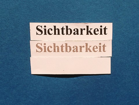 Amazon Vendor Central: Sichtbarkeit (visibility).