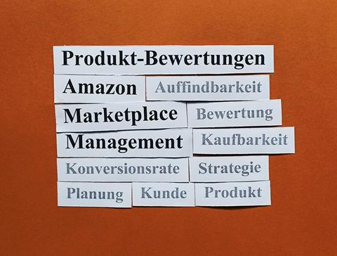 Amazon Marketplace Management: Produkt-Bewertungen.