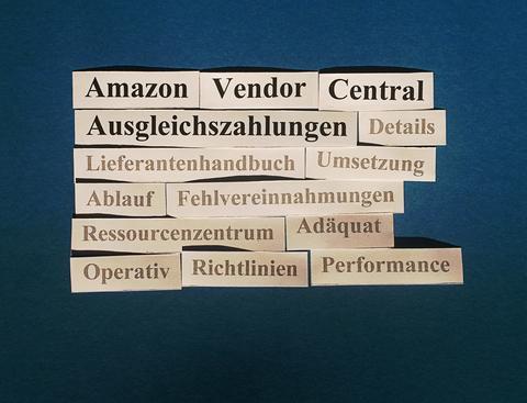 Amazon Vendor Central: Ausgleichszahlungen (Chargebacks).