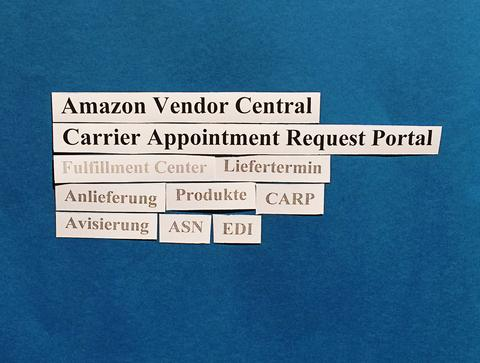 Amazon Vendor Central: Hinweise zum Carrier Appointment Request Portal (CARP).