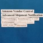 Amazon Vendor Central: Hinweise zur Advanced Shipment Notification (ASN).