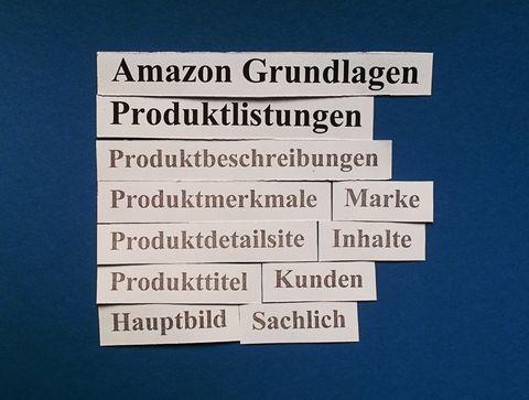 Amazon Grundlagen: Produktlistungen.