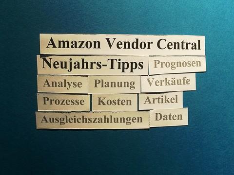 Amazon Vendor Central: 10 Neujahrs-Tipps.
