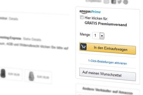 Einkaufswagen-Feld: Online Einkaufserlebnis