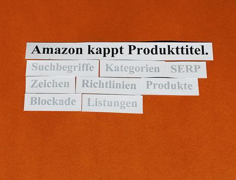 Verbessern Sie Ihre Produkttitel, bevor Amazon es tut.