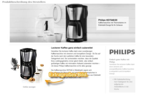 Amazon Ranking: A+ Inhalt (EMC bzw. EBC): Extragroßes Bild.