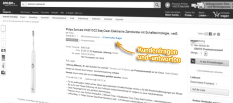 Amazon Ranking: Kundenfragen und -antworten
