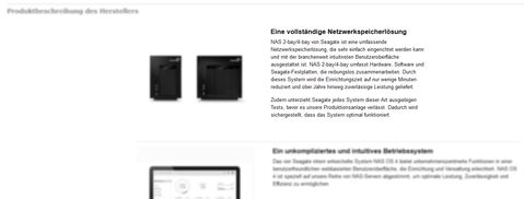 Seagate NAS. Quelle: Amazon.de