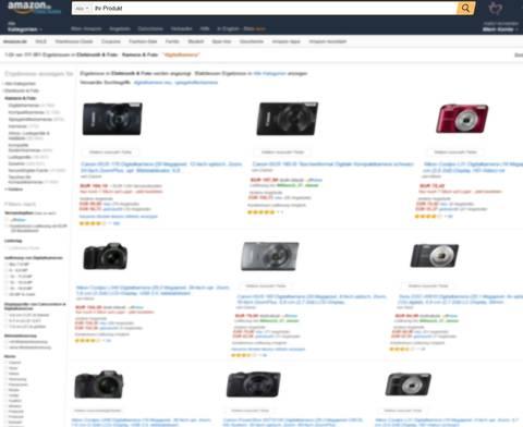 Ihr Produkt in den Amazon Suchergebnissen (SERP). Quelle: Amazon.de