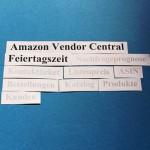 Amazon Vendor Central: Feiertagszeit, die 5. Jahreszeit bei Amazon.