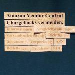 Amazon Vendor Central. Tipps für Fortgeschrittene: Ausgleichszahlungen vermeiden.