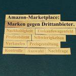 Amazon-Marketplace: Marken im Kampf gegen Drittanbieter.