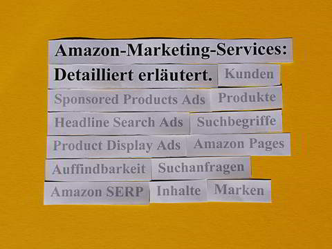 Amazon Marketing Services: detailliert erläutert.