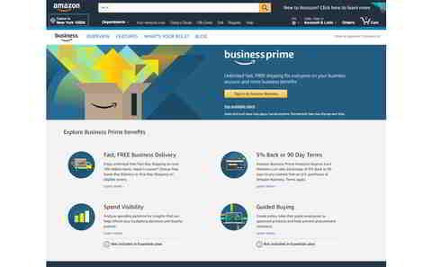 Amazon Business Prime (US). Quelle: Amazon.com/businessprime