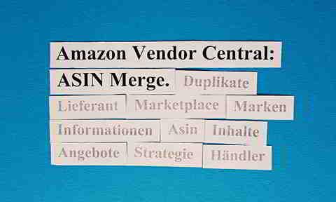 Mit ASIN Zusammenfassung Duplikate auf dem Marketplace eliminieren