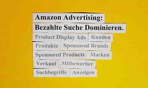 Amazon Advertising: Bezahlte Suche Dominieren.