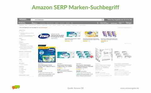 SERP Marken-Suchbegriff