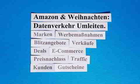 Datenverkehr (= Amazon Kunden) Zum Weihnachtsgeschäft Bei Amazon Umleiten.