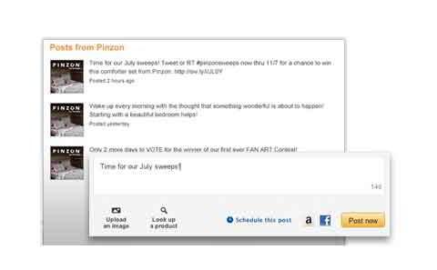 Amazon Brand Posts 2013