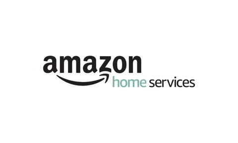 Amazon Home Services (Logo). Professionelle Dienstleistungen auf Amazon verkaufen. Quelle: Amazon US.