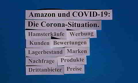 Amazon und die Corona-Situation
