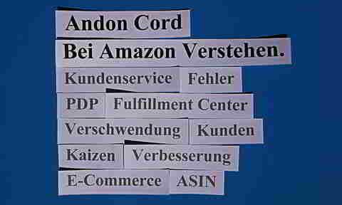 Andon Cord Bei Amazon Verstehen