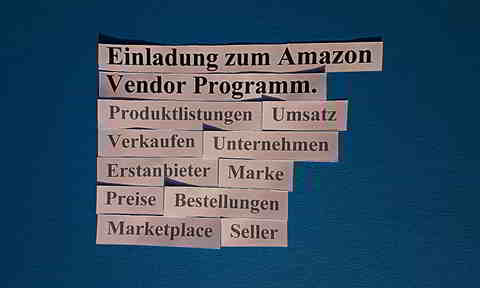 Amazon Vendor Programm Lädt Ein