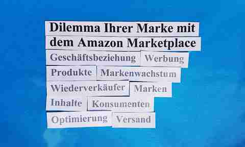 Dilemma Amazon Vendor Central