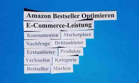 Amazon Bestseller Optimieren E-Commerce