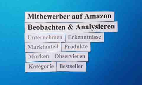 Mitbewerber auf Amazon Beobachten & Analysieren