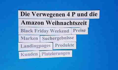 Die Verwegenen 4 P und die Amazon Weihnachtszeit