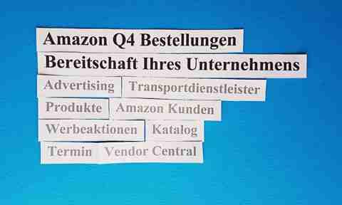 Amazon Q4 Bestellungen: Commitment Ihres Unternehmens